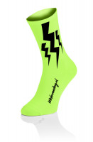 4x Winaar Lightning Socks - Fluo Yellow